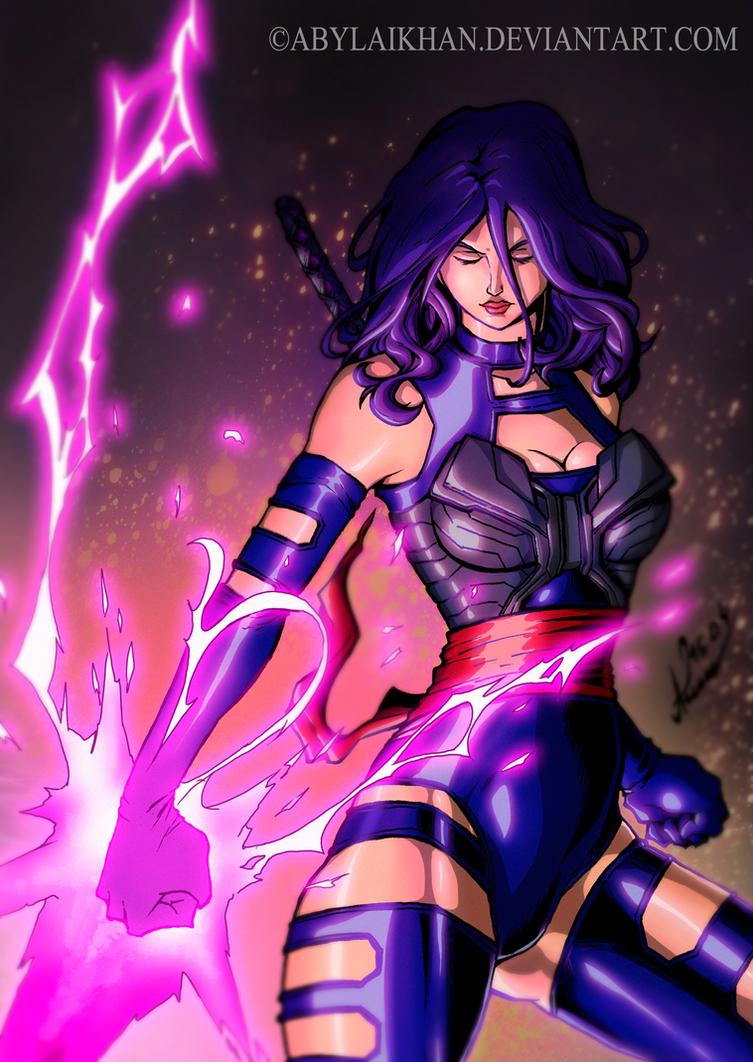 Marvel Psylocke Art Psylocke-Xman Apocalyp...