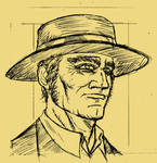Once upon a time in the west: Henry Fonda as Frank