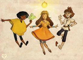 MCoG: Golden Trio by Annorelka