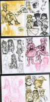 My sketchbook 4 by Annorelka