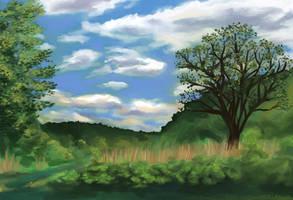 Landscape 1 by Annorelka