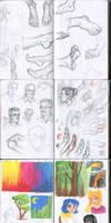 My sketchbook 12 by Annorelka