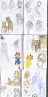 My sketchbook 14 by Annorelka
