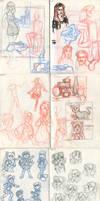 My sketchbook 20 by Annorelka
