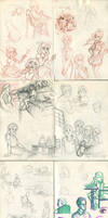 My sketchbook 23 by Annorelka