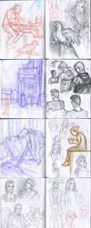 My sketchbook 31 by Annorelka
