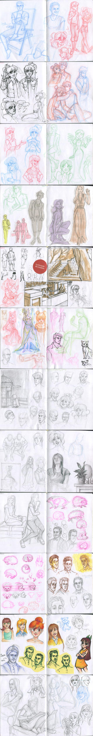 My sketchbook 37 by Annorelka