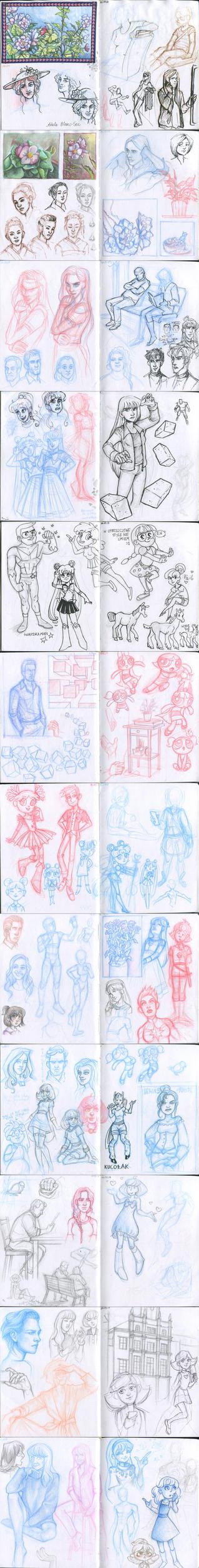 My sketchbook 38 by Annorelka