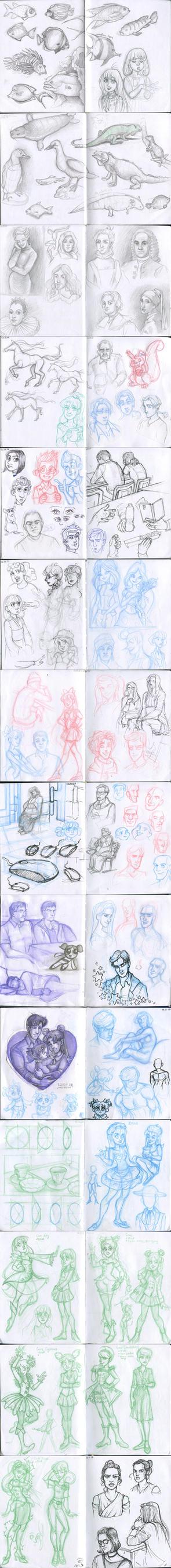 My sketchbook 39 by Annorelka