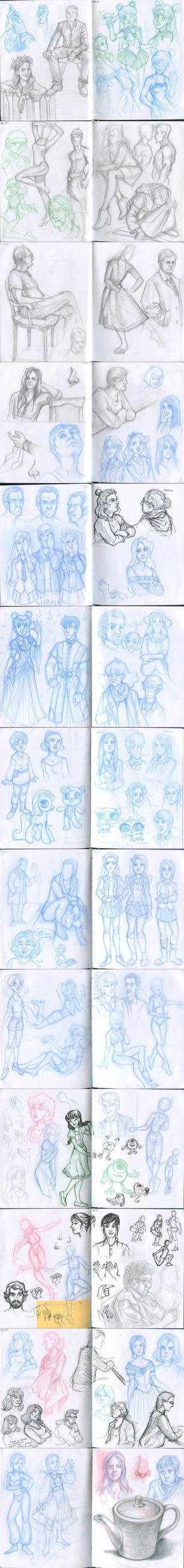 My sketchbook 40 by Annorelka