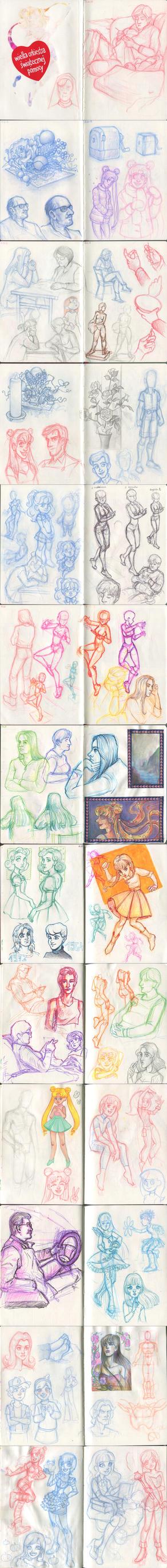 My sketchbook 41 by Annorelka