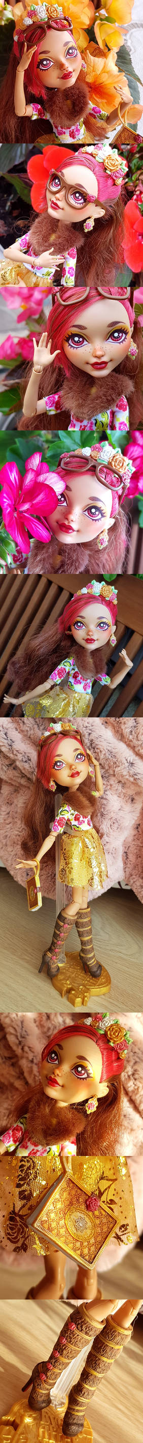 Ever After High repaint: Rozia