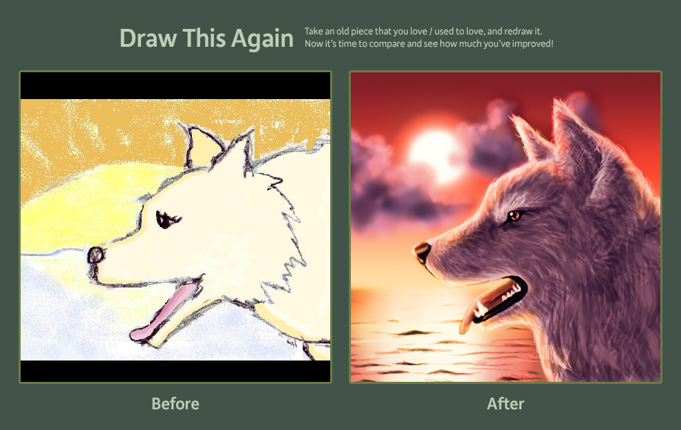 Draw this Again Contest Entry by shylittleghost