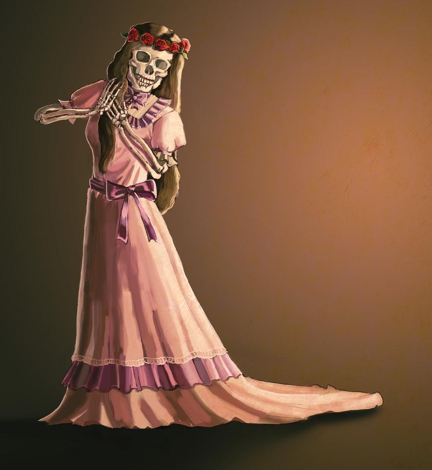 Doodle: Juliet by shylittleghost