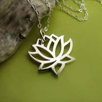 Lotus flower by JuneDesignsJewelry