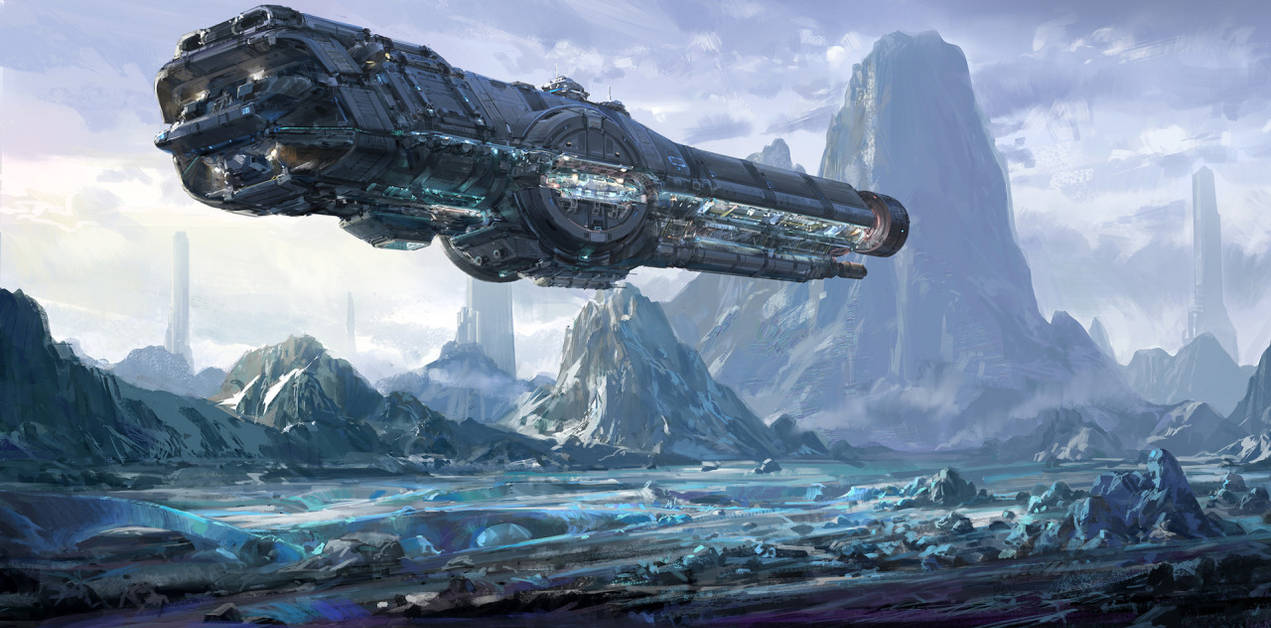 sci fi art - HD1920×950