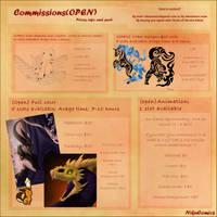 (reminder) Commission Status (OPEN) by NikuComics