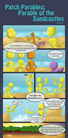 Parables of the Sandcastles Comic Part two  by NikuComics
