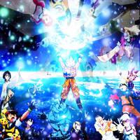 Goku's D.D. Spirit Bomb Crossover by yugioh1985