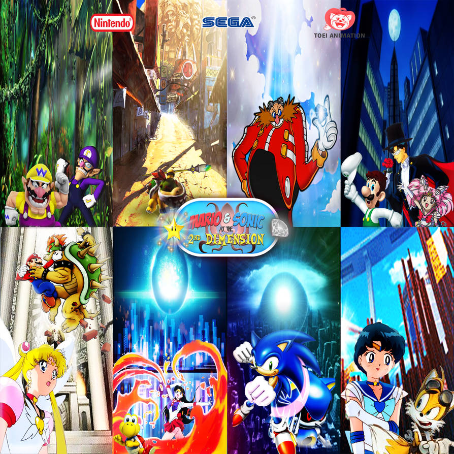 Mario and Sonic TSD - Multiverse Adventures by yugioh1985 on