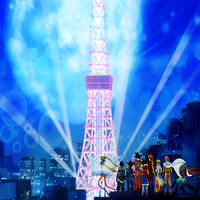 Tokyo Tower's Night Tour Visit by yugioh1985