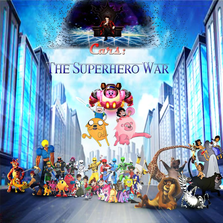 Cars - The Superhero War by yugioh1985