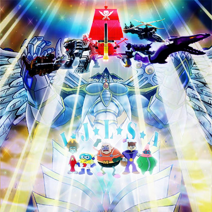 Power Rangers - IJLSA's Own Zords by yugioh1985