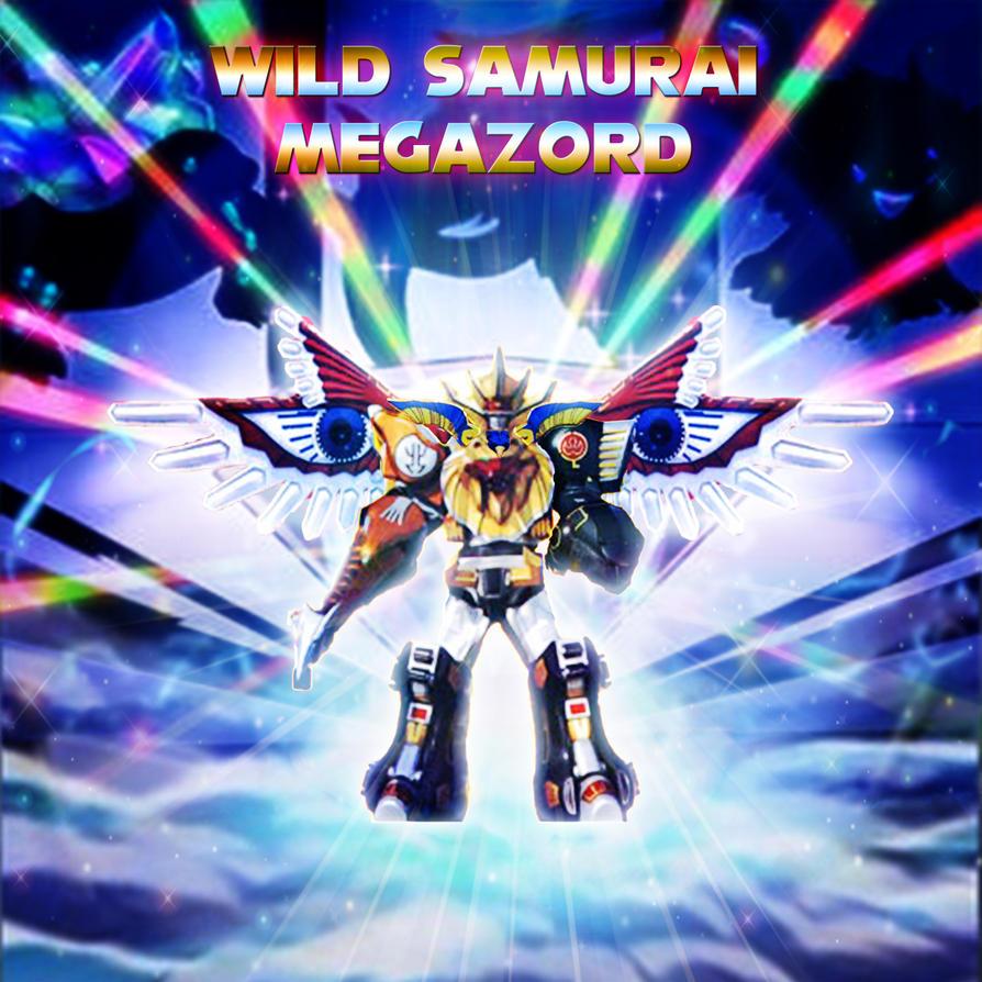 Power Rangers - Wild Samurai Megazord by yugioh1985