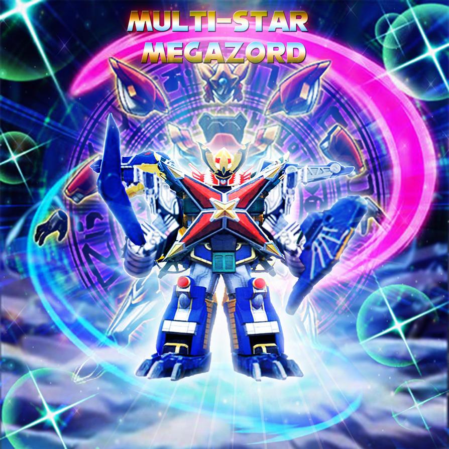 Power Rangers - Multi-Star Megazord by yugioh1985