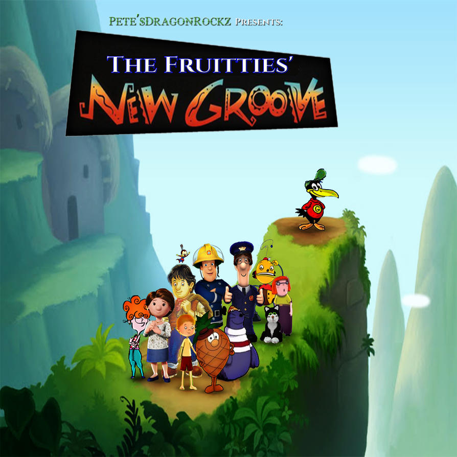 The Fruitties' New Groove by yugioh1985