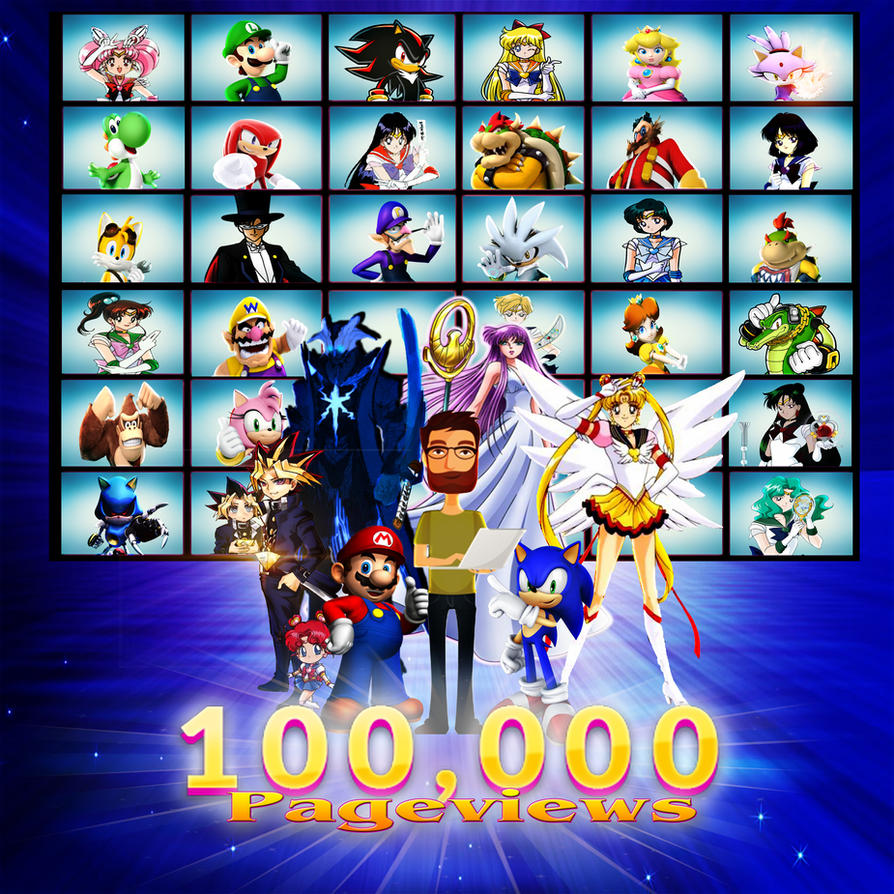 MSM's 100,000 Pageview by yugioh1985