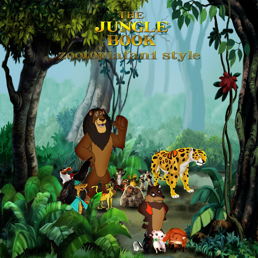 The Jungle Book (zootopiafan1 style) by yugioh1985