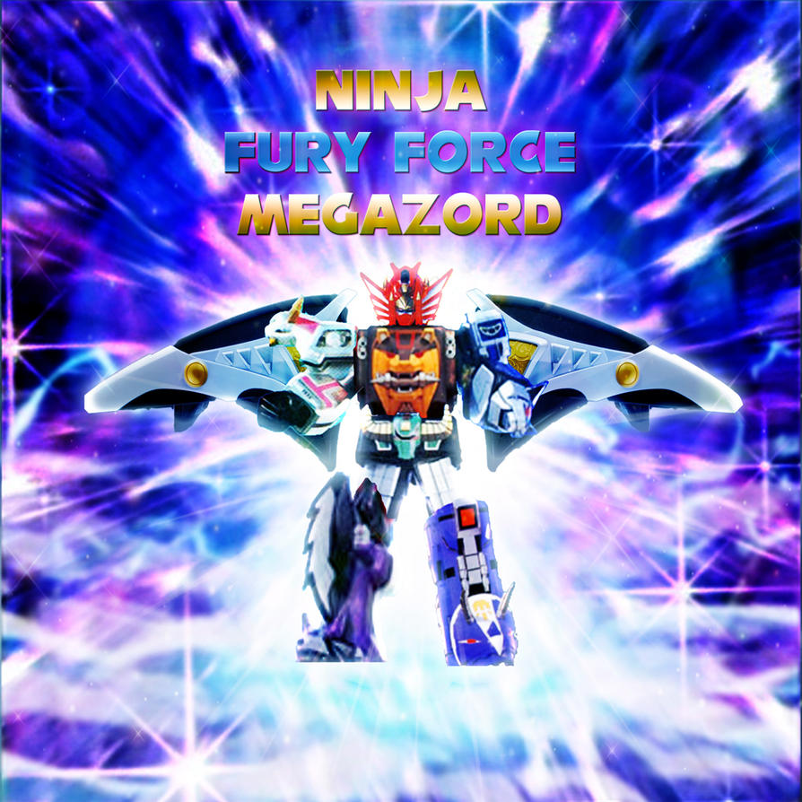Ninja Fury Force Megazord by yugioh1985