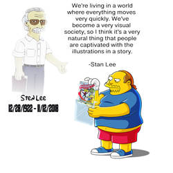 Simpsons Tribute to Stan Lee by yugioh1985