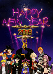 Happy New Year Day, 2019! by yugioh1985
