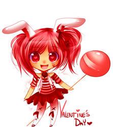 Heart Valentines by pekou