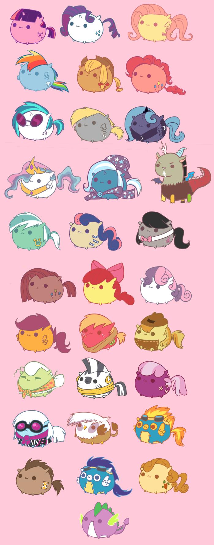 My Little Chubbies by pekou