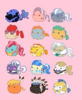 My Little Chubbies Dump 2 by pekou