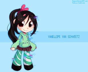 Vanellope Van Schweetz by pekou