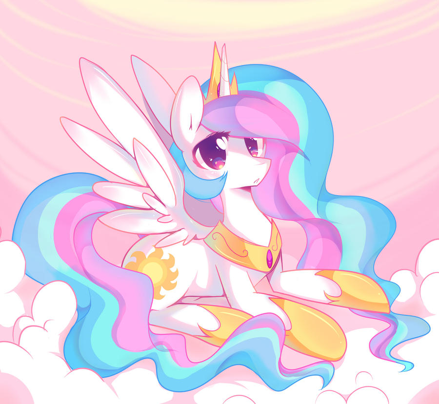 Bronycon 2012: Princess Celestia by pekou