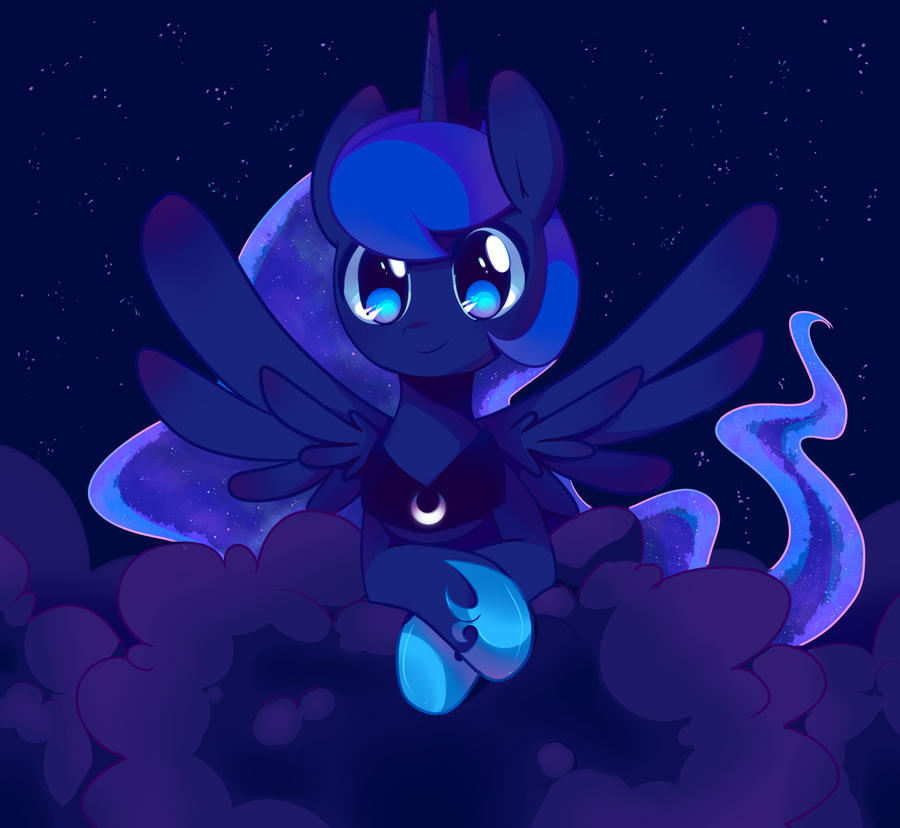 Bronycon 2012: Princess Luna by pekou