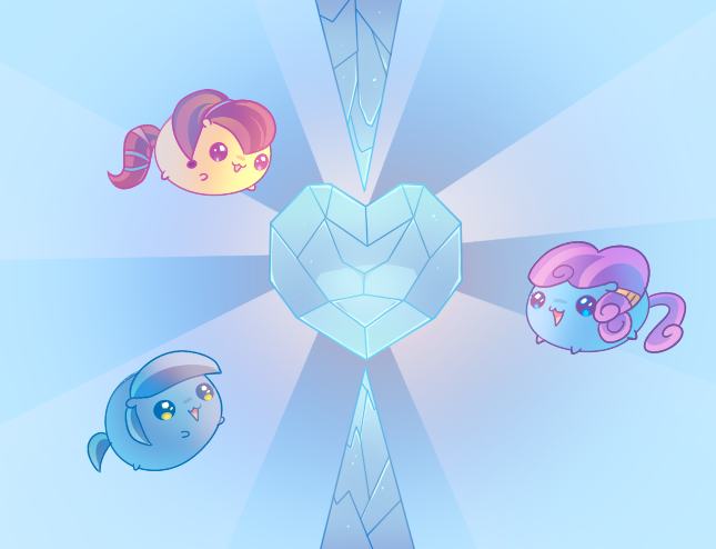 Askmlcblobs: Crystal Chubbies by pekou