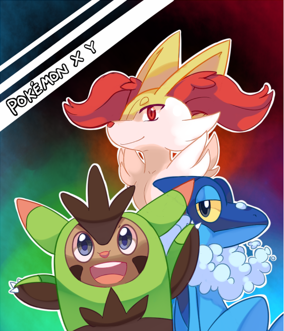 Pokemon X and Y second...X And Y Starter Evolutions