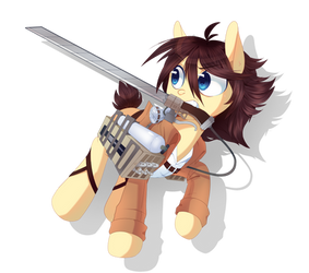 Attack on Pony by pekou