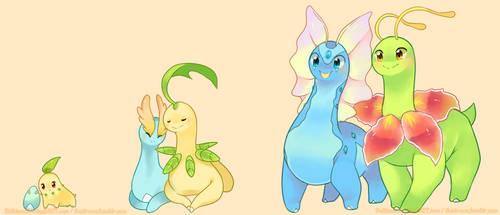 dino friends by pekou