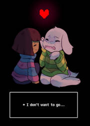 * I Don't Want to Let Go | Undertale