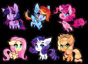 little horse babies by pekou