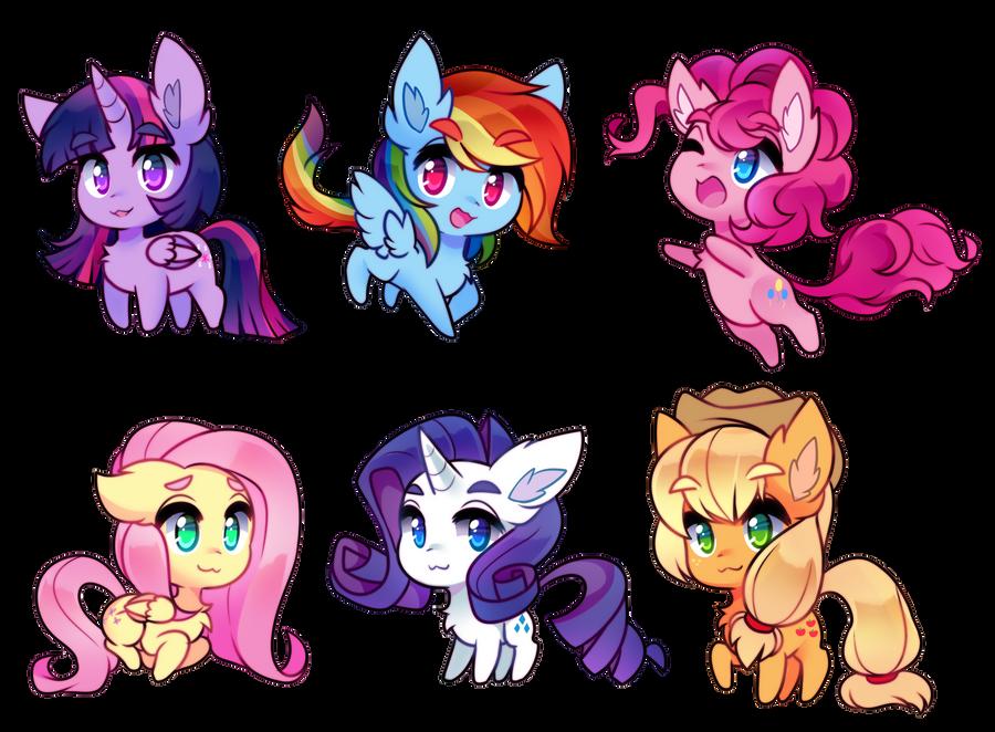 little horse babies