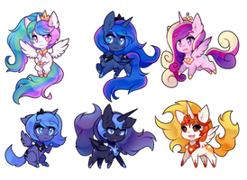 little horse princesses by pekou