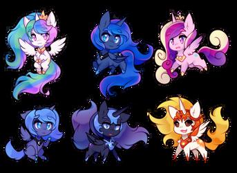 little horse princesses by pekou